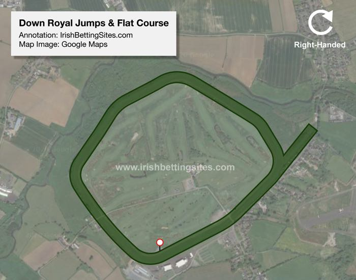 Down Royal Jumps & Flat Racecourse Map